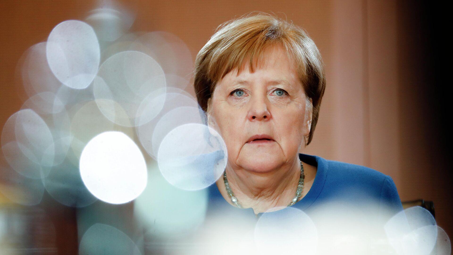 Канцлер Германии Ангела Меркель - РИА Новости, 1920, 04.02.2021