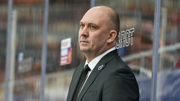 Главный тренер ХК Молот-Прикамье Павел Десятков