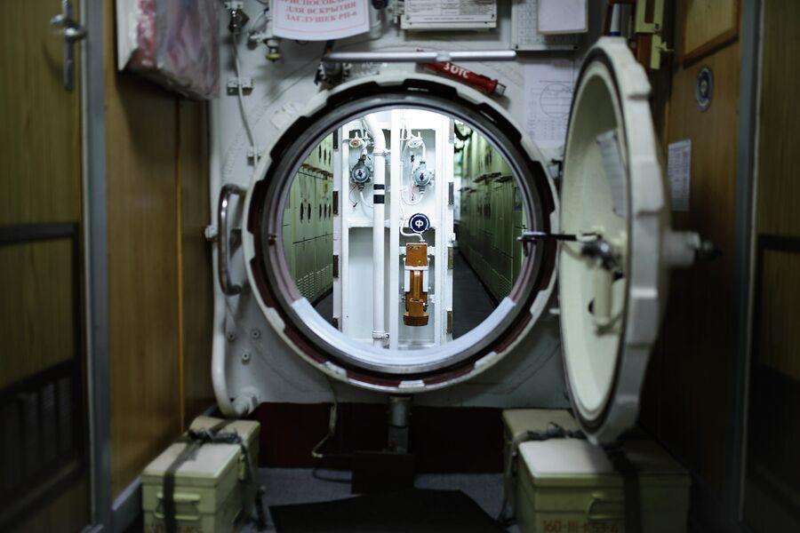 Отсеки атомной подводной лодки Северодвинск