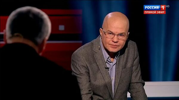 Из студии программы Вечер с Владимиром Соловьевым был выгнан Ковтун