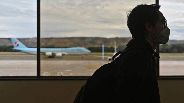 Ситуация в аэропорту Мадрида в связи с коронавирусом