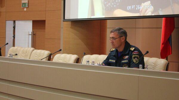 Заместитель министра по чрезвычайным ситуациям Татарстана Ильхам Насибуллин