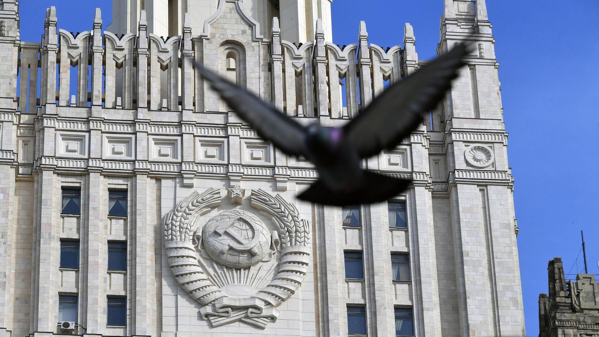 Здание Министерства иностранных дел РФ - РИА Новости, 1920, 08.03.2021