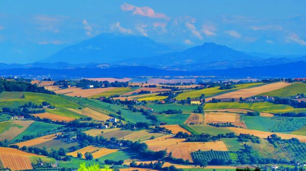 Реканати в регионе Марке, Италия