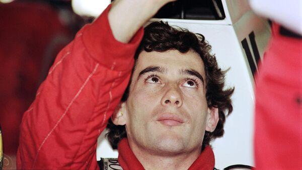 Трёхкратный чемпион мира Формулы-1 Айртон Сенна