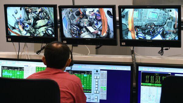 Плановые экзаменационные комплексные тренировки экипажа МКС