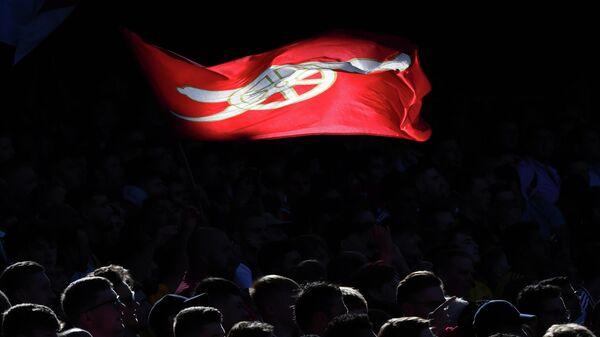 Флаг ФК Арсенал (Лондон)