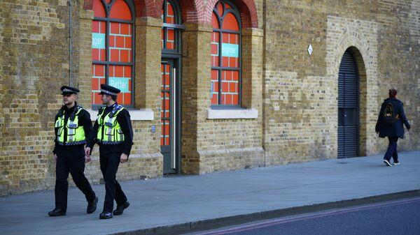 Полицейские в Лондоне