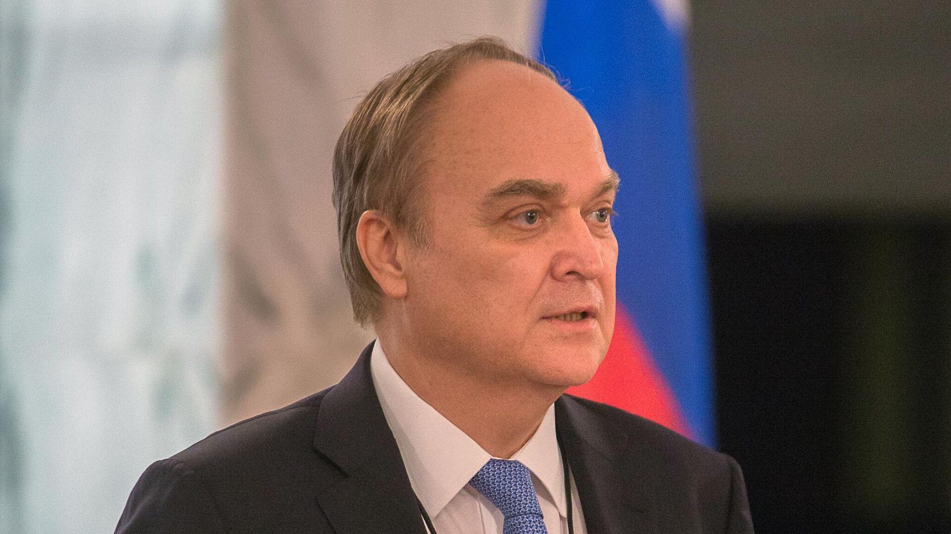 Посол РФ в США Анатолий Антонов - РИА Новости, 1920, 18.10.2020