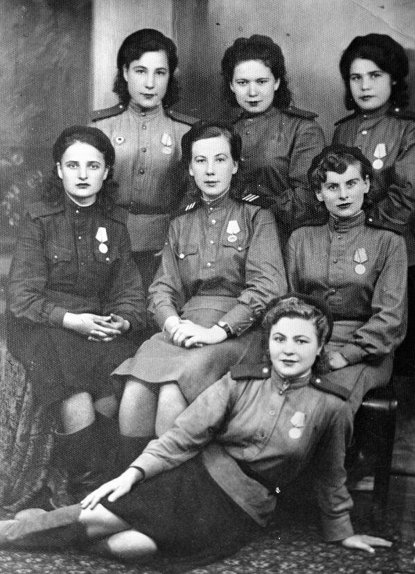 Дагестанские девушки – участницы Великой Отечественной войны