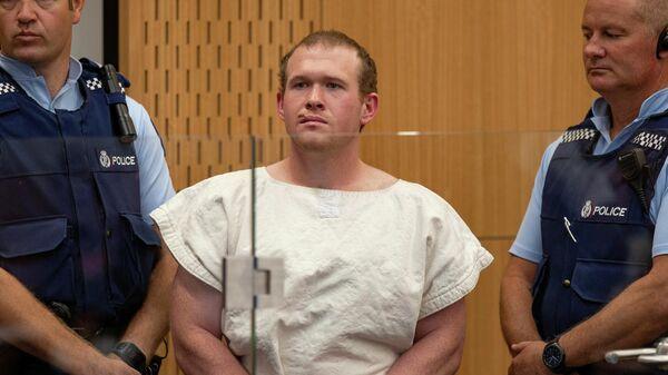 Брентон Таррант в суде