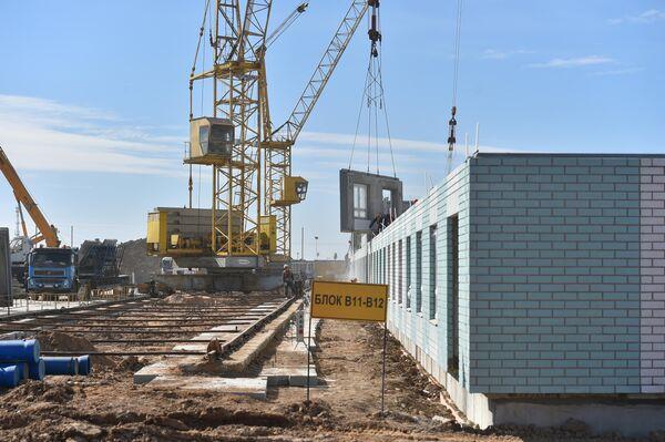 Строительство инфекционной больницы в новой Москве