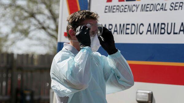 Работник скорой помощи в штате Оклахома