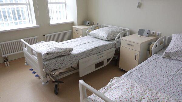 Пустая больничная палата