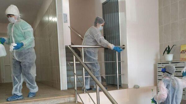 Дезинфекционная обработка подъездов домов в Подмосковье
