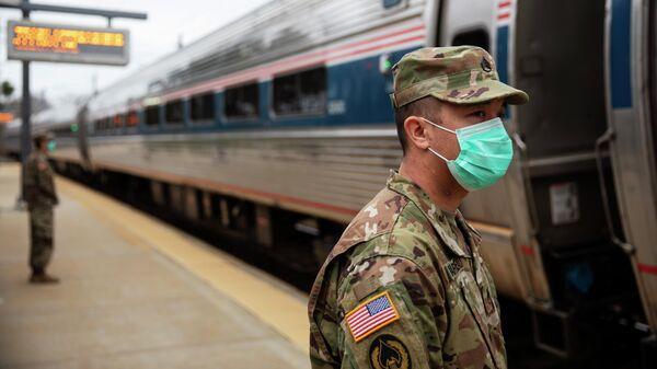 Сотрудники Национальной гвардии США