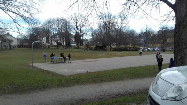 Жизнь в Стокгольме во время пандемии коронавируса COVID-19