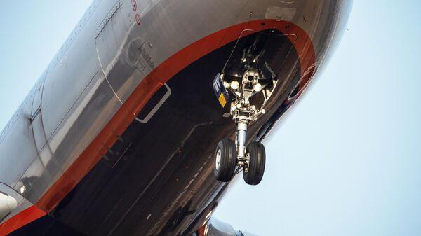 Шасси пассажирского самолета Airbus A330-343X авиакомпании Аэрофлот