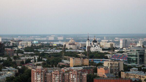 Вид на город Воронеж