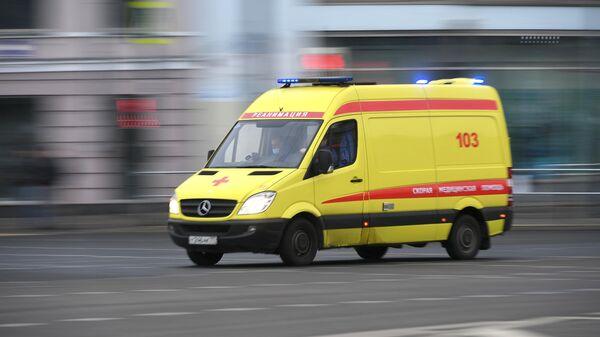 Машина медицинской скорой помощи