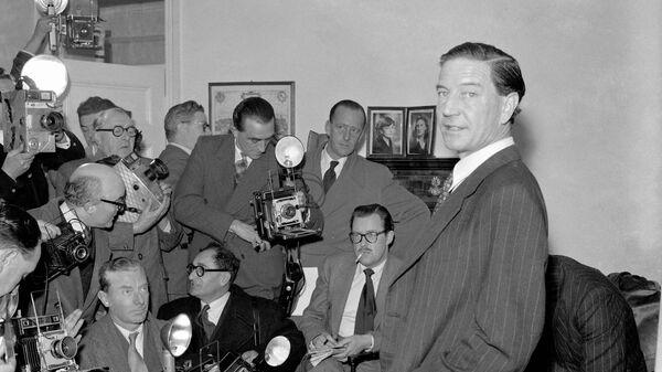 Лидер Кембриджской пятёрки Ким Филби. 1955 год