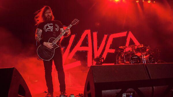 Гитарист группы Slayer Гэри Холт