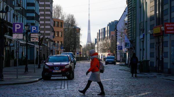 Улица в Старой Риге
