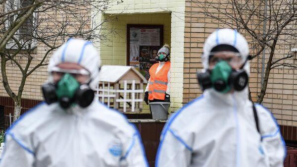 Дезинфекция жилого дома в связи с коронавирусом