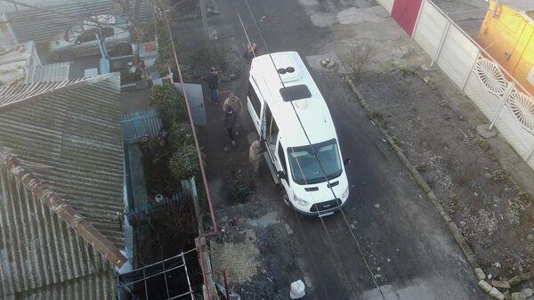 Задержание сотрудниками ФСБ РФ подростков в Керчи, готовивших террористические акты на территории РФ
