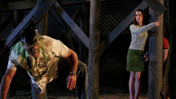 Кадр из сериала Два с половиной человека