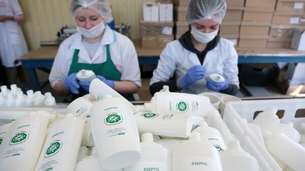 В России в четыре раза вырос объем производства антисептиков