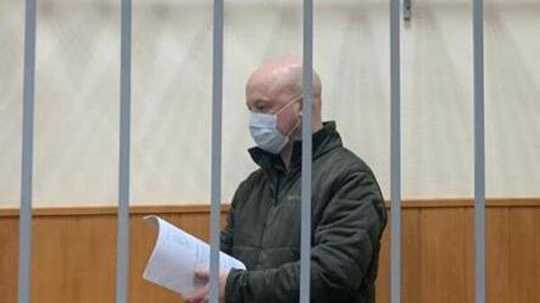 Заместитель главы Следственного департамента (СД) МВД РФ генерал Александр Краковский в суде
