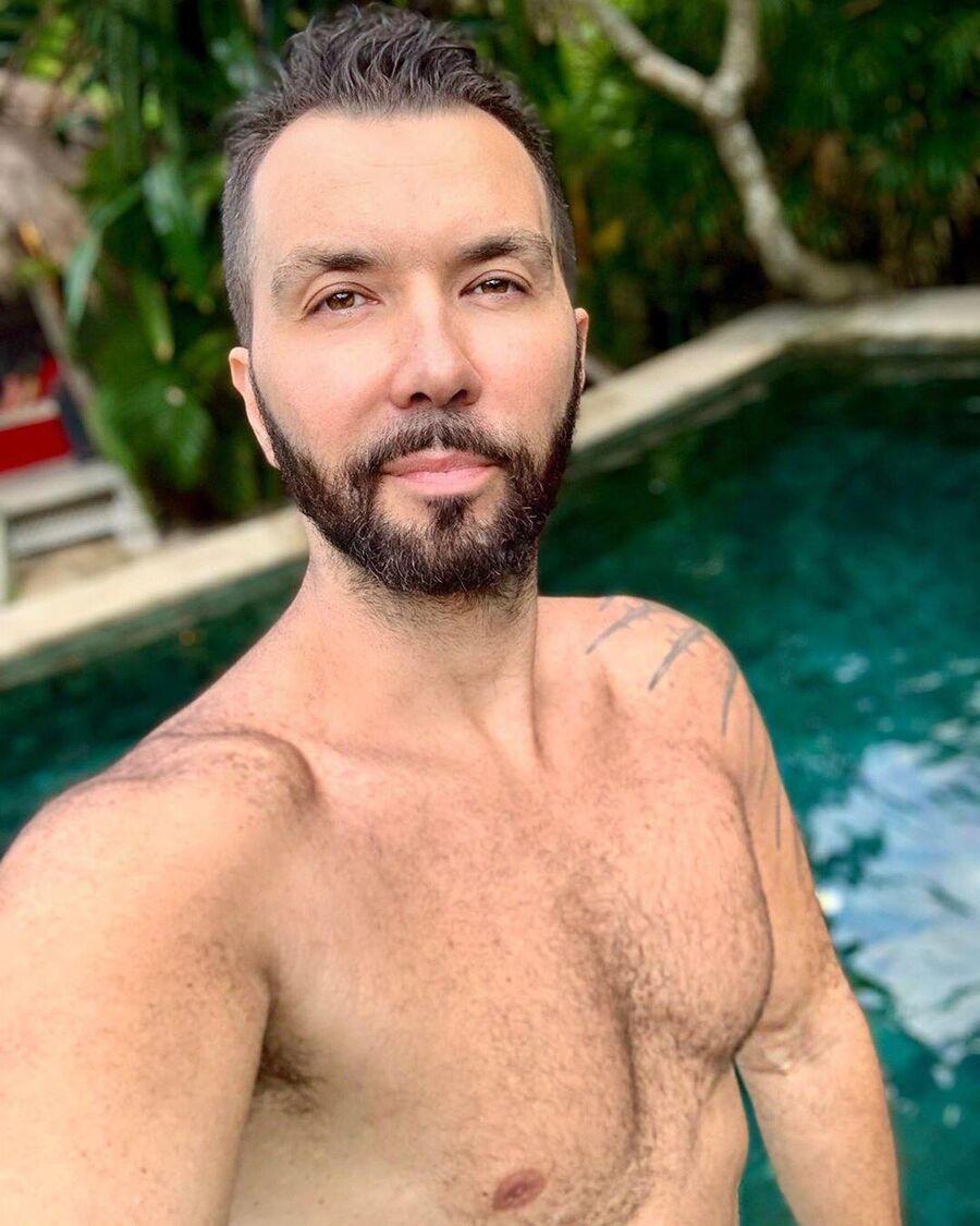 Денис Клявер на Бали