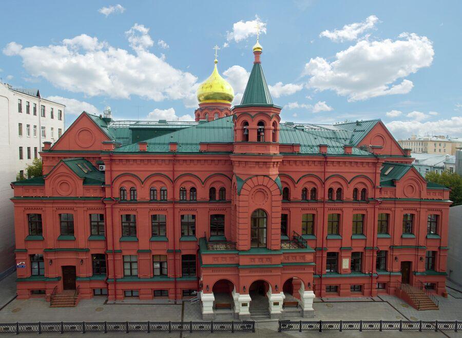 Здание Православного Свято-Тихоновского гуманитарного университета
