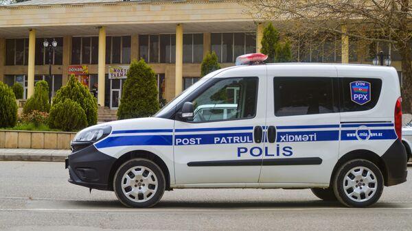 Служебный автомобиль правоохранительных органов Азербайджана