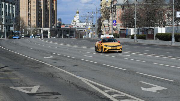 Автомобиль сервиса Яндекс. Такси в Москве