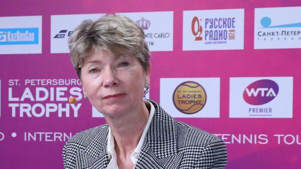 Исполнительный директор теннисного турнира St. Petersburg Open Наталья Камельзон.