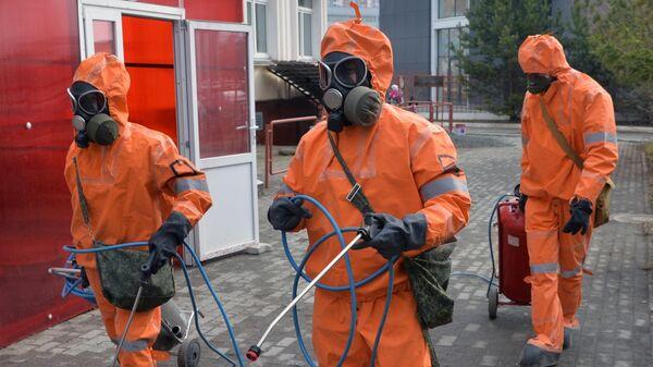 Санитарная обработка медицинских учреждений в Челябинске