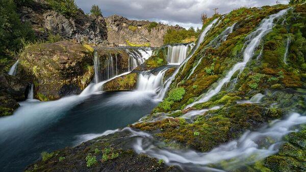 Водопад Гьяйн в Исландии