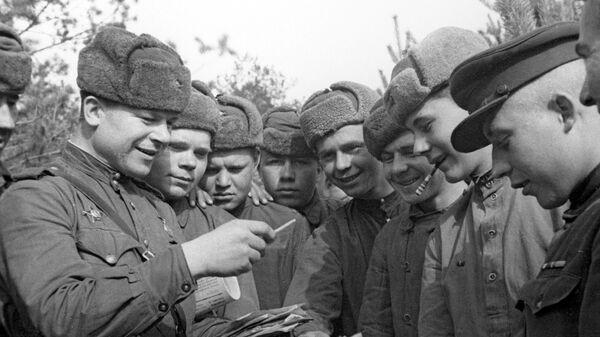 Советские военные