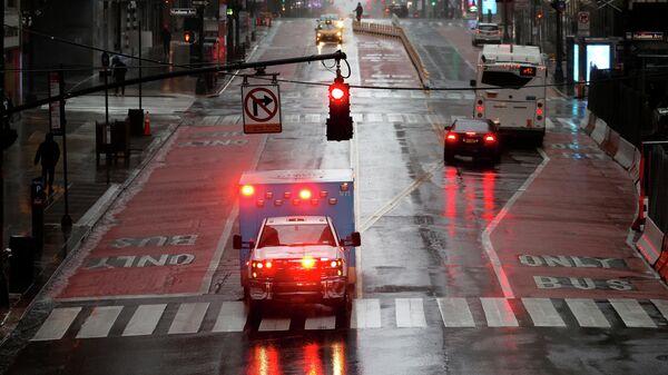 Автомобиль скорой помощи в Нью-Йорке