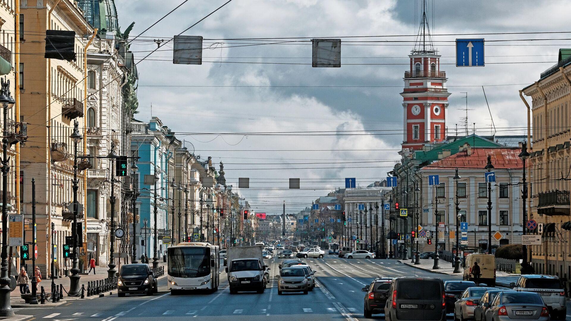 Невский проспект в Санкт-Петербурге - РИА Новости, 1920, 25.09.2020