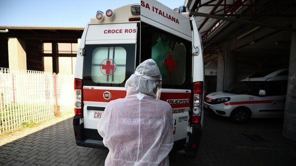 Машина скорой помощи в Италии