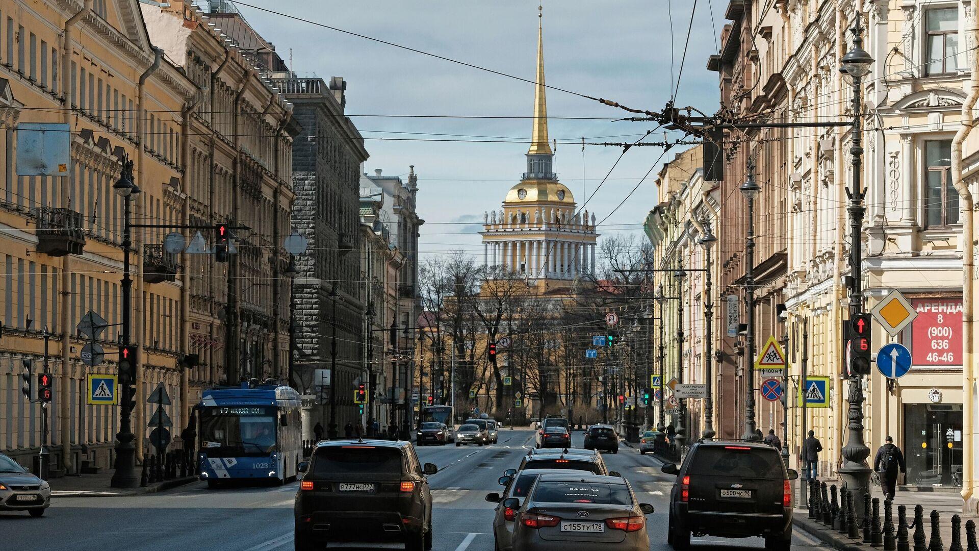 Невский проспект в Санкт-Петербурге - РИА Новости, 1920, 21.06.2021