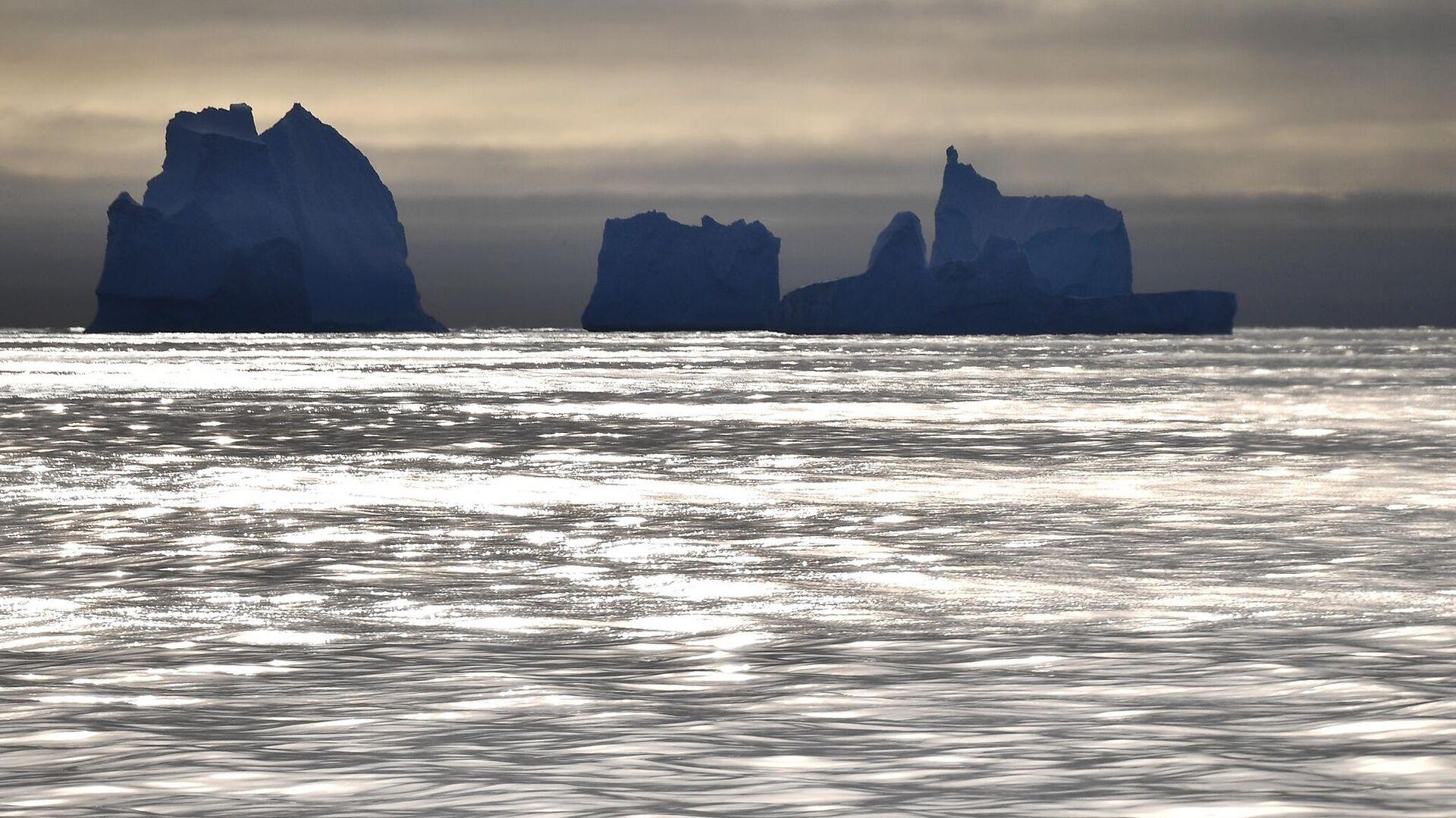 Айсберги у побережья Антарктиды  - РИА Новости, 1920, 27.05.2021