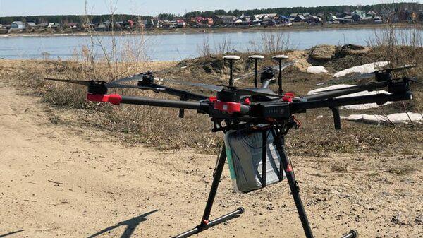 Испытание беспилотного летательного аппарата