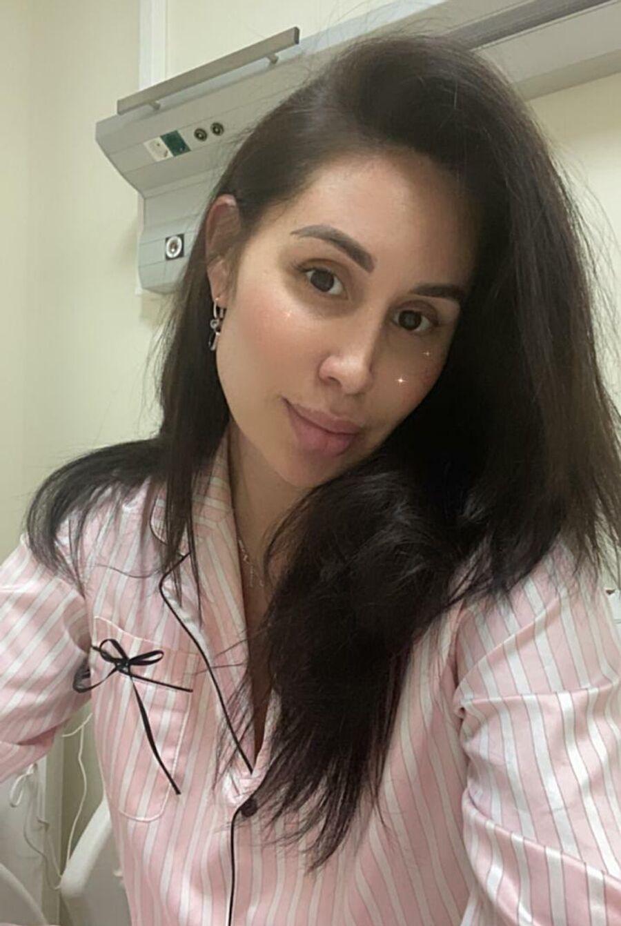 Анастасия Шахова в больнице
