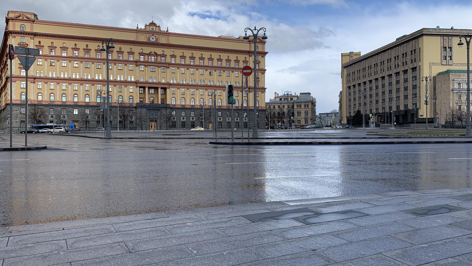 Лубянская площадь и здание органов госбезопасности в Москве - РИА Новости, 1920, 25.02.2021