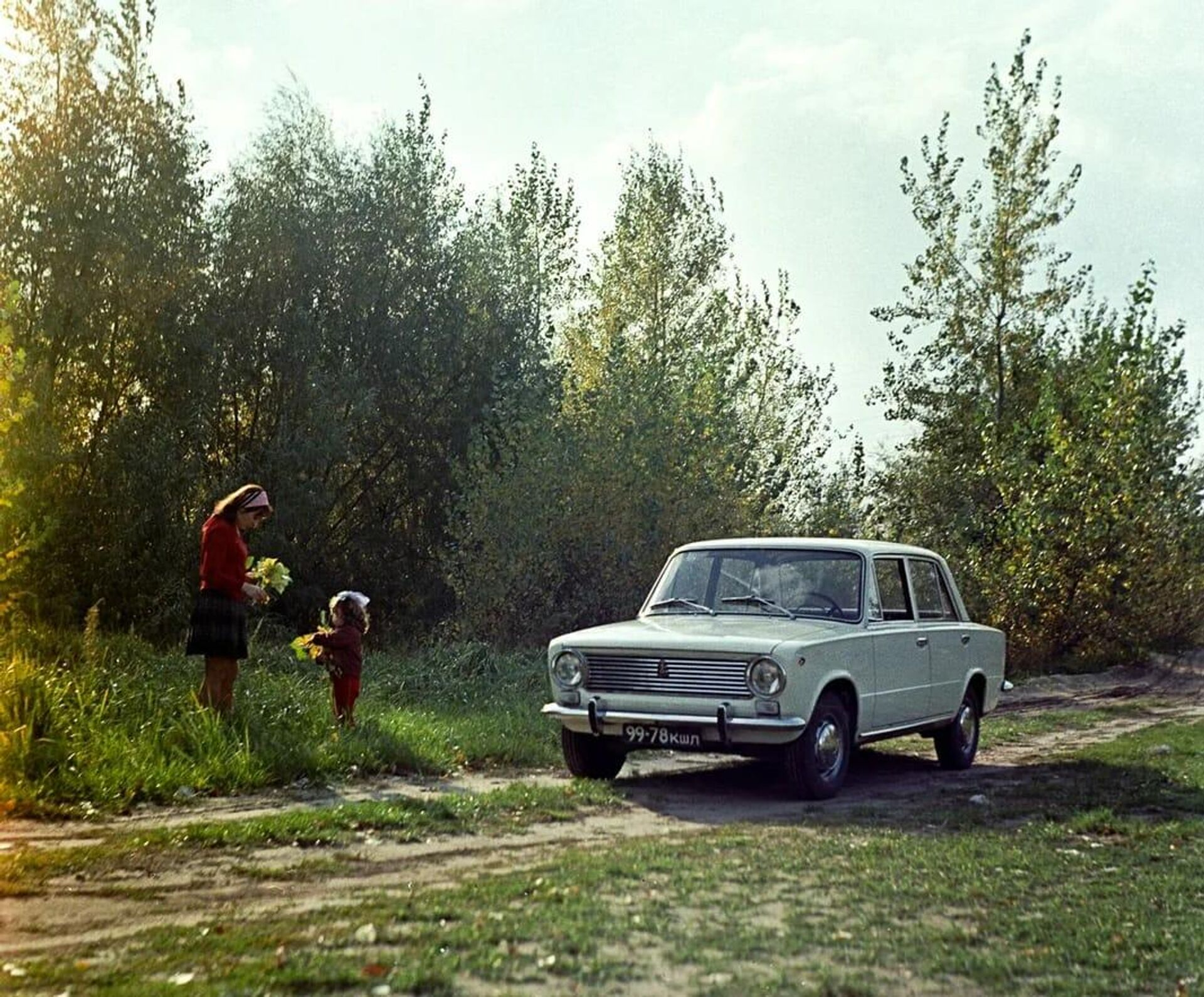 Автомобиль ВАЗ-2101 - РИА Новости, 1920, 04.09.2020