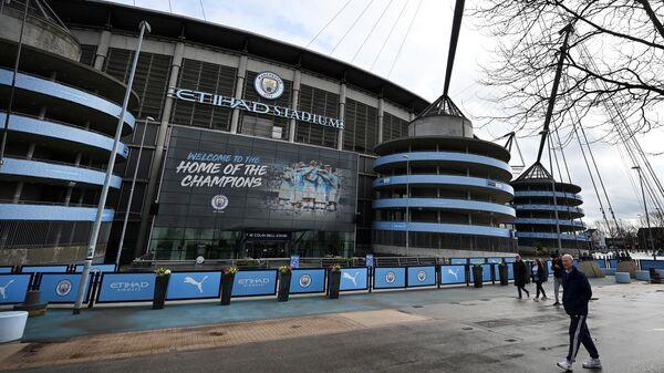 Стадион английского Манчестер Сити